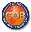 COB Certified E-Business Manager certification