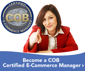 Learn Web Merchandising on the COB Certified E-Commerce Manager Program
