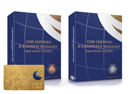 COB Certified Self-Study Course Box Sets with Gift Card Option