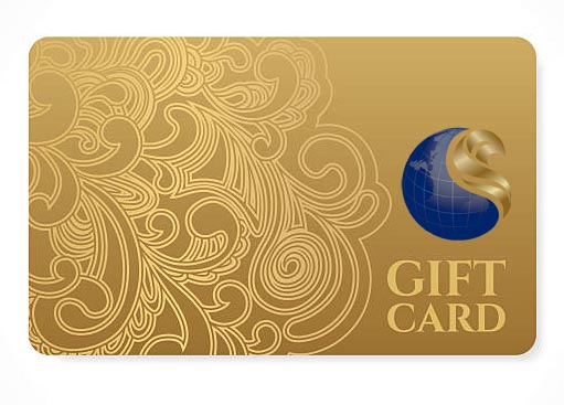 Gold Gift Card - COB Certified UK Online Store