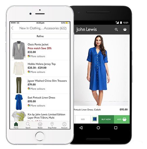 John Lewis In-Store Customer Experience Meets Online |The ...